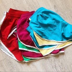 3 pairs of Soffe Junior Shorts - Multi Colors